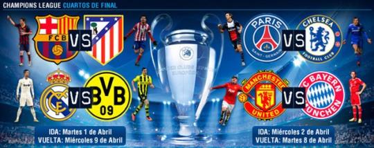 Cuartos de final en la Champions League, los mejores de la historia ...