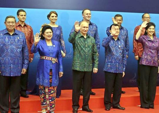FOTO DE FAMILIA DE LA CUMBRE APEC
