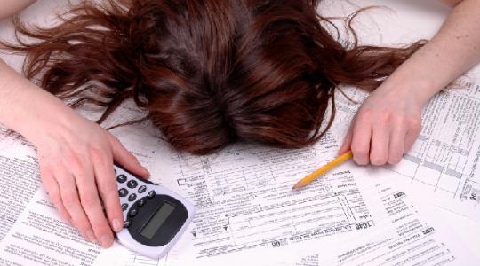 declaración anual de impuestos- multas