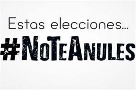 anular el voto_