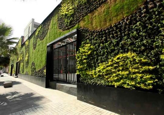 Muros verdes m s que un adorno perfiles a la vanguardia for Muros y fachadas verdes jardines verticales