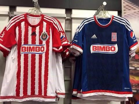 Estos son los uniformes que se lucirán en el Apertura 2015 ... 1df8c158e877a